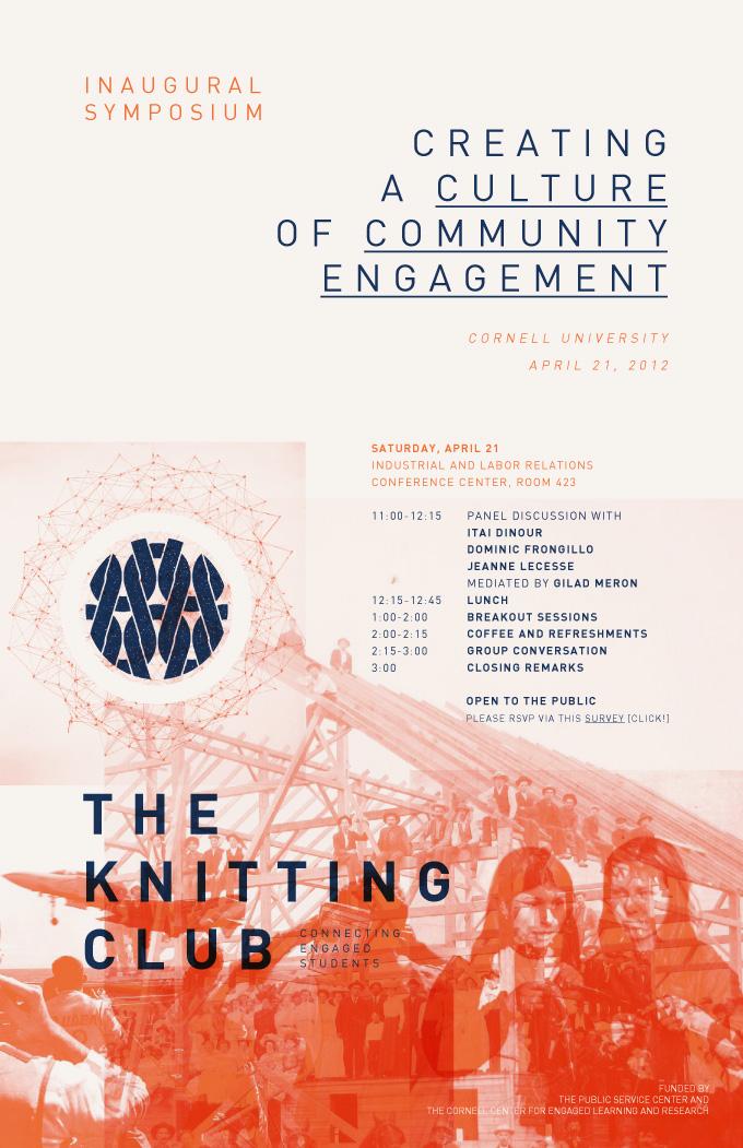 Knitting Club Logo : The knitting club